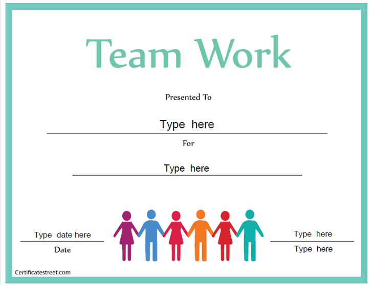 certificate-for-good-teamwork