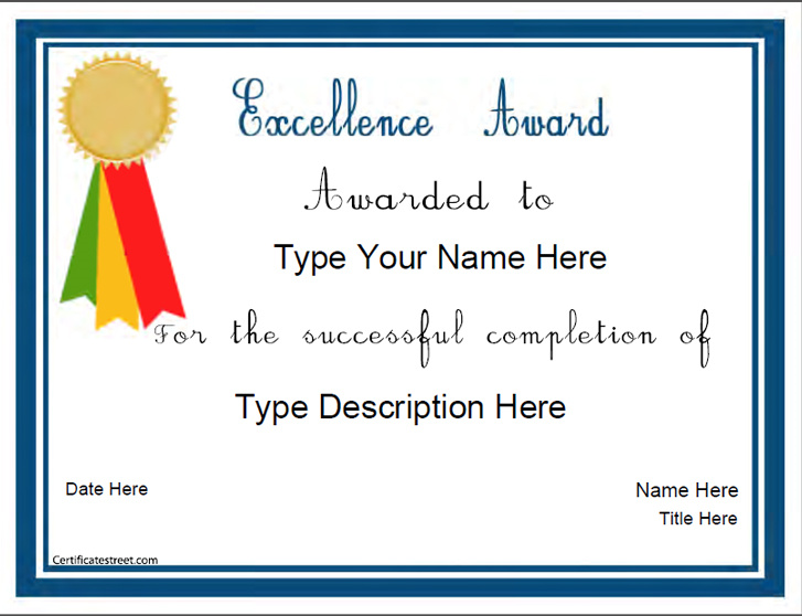 certificate-for-excellence