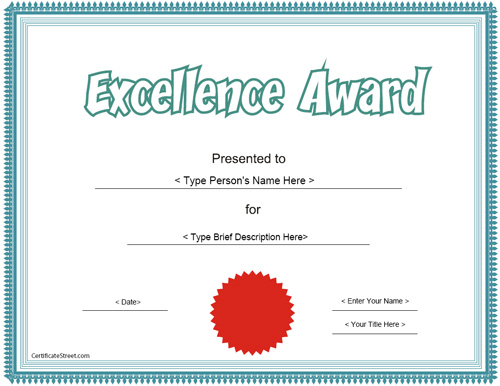 award-for-excellent-work