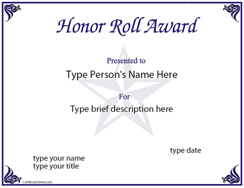honor-role-award