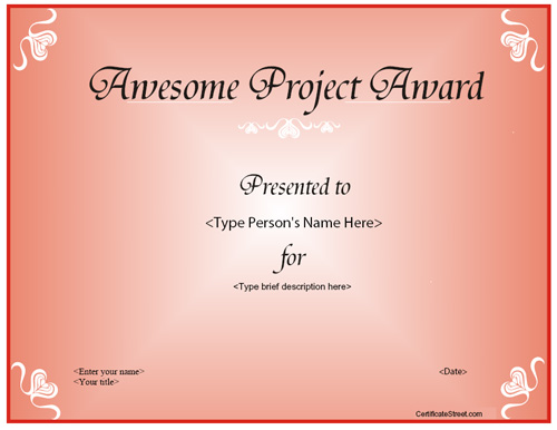 awesome-project-award