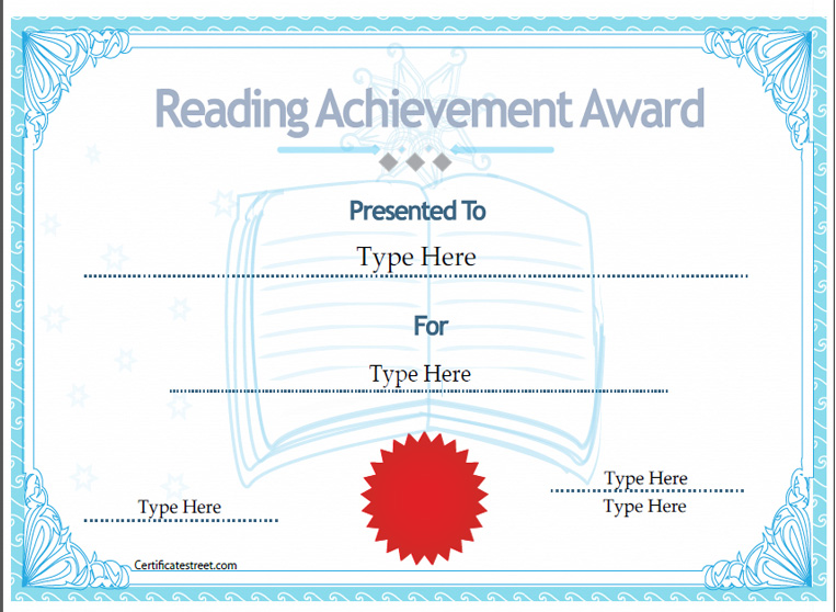 Certificate Street: Free Award Certificate Templates - No Registration ...
