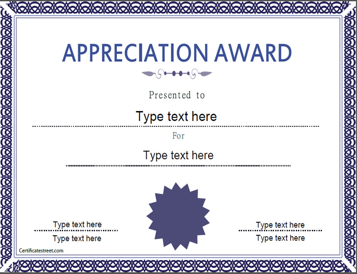 appreciation-award