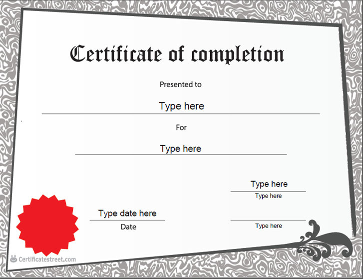 Certificate Street: Free Award Certificate Templates - No ...