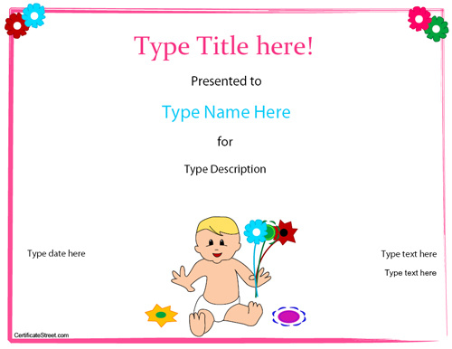 baby-birth-certificate-template
