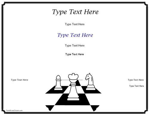 chess-award-certificate-template