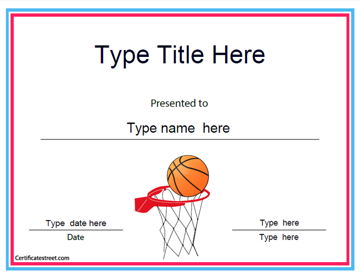 baskeball-achievement-certificate-template