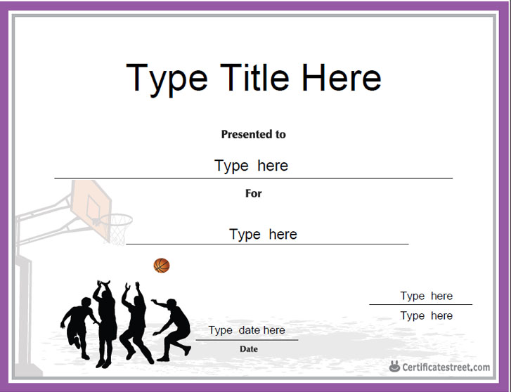 Certificate Street: Free Award Certificate Templates - No