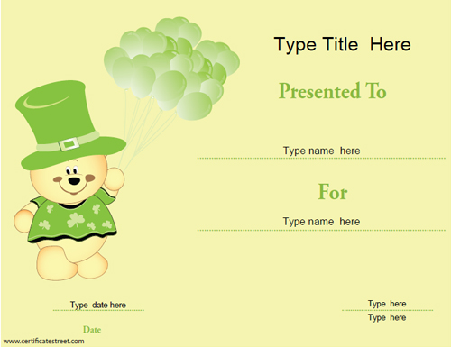 saint-patricks-day-template
